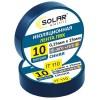 Изолента SOLAR IT110 синяя 10м