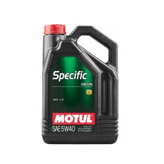 Моторное масло MOTUL Specific CNG/LPG 5W-40 5L (854051)