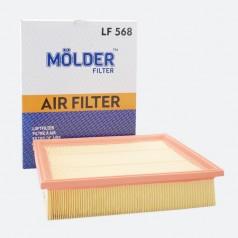 Фильтр воздушный MOLDER LF568 (аналог WA6345/LX678/C33256)