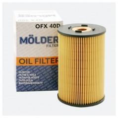 Фильтр масляный MOLDER OFX40D (аналог WL7036/OX150DEco/HU9324X)