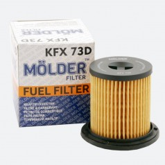 Фильтр топливный MOLDER KFX73D (аналог WF8315/KX183D/PU731X)