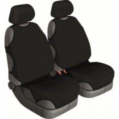 Автомайки универсальные Beltex Cotton 1+1 черные без подголовников 11210