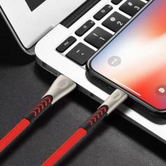 Кабель синхронизации Hoco U48 Superior Speed Lightning Cable Iphone 1.2m Red (U48-i(r))