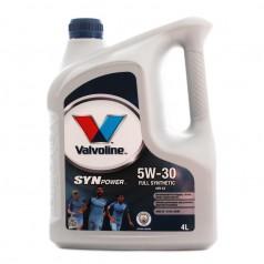 Моторное масло Valvoline SYNPOWER ENV C2 5W-30 4 л (872521)