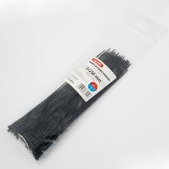 Хомуты пластиковые CARLIFE 3.0x250 мм Черные