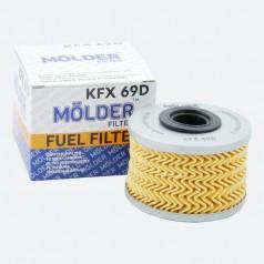 Фильтр топливный MOLDER KFX69D (аналог WF8014/KX79D/P7161X)