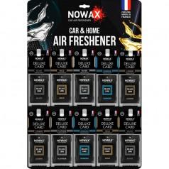 Планшет MIX №1 ароматизаторов целлюлозных 50 шт Nowax Delux Card (NX07736)