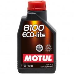 Моторное масло Motul 8100 Eco-lite SAE 5W-30 1L (839511)