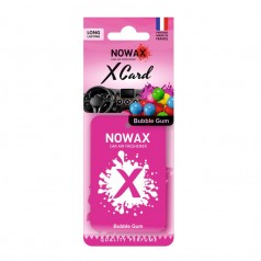 Ароматизатор на зеркало NOWAX X Card Bubble Gum (NX07540)
