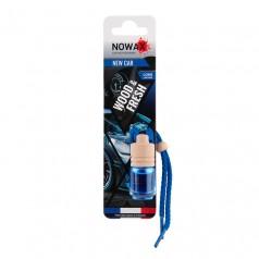 Ароматизатор автомобильный подвесной Nowax Wood&Fresh New Car жидкость (NX07707)