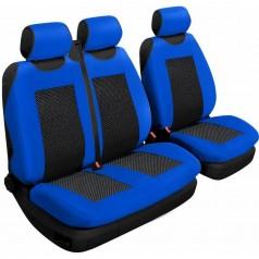 Авточехлы универсальные Beltex Comfort 2+1 Тип А синие без подголовников 53410