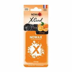 Ароматизатор на зеркало NOWAX X Card Orange (NX07535)