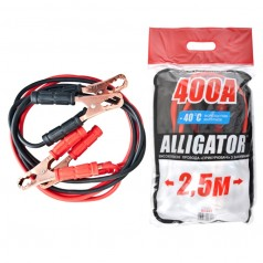 Пусковые провода ALLIGATOR BC641 CarLife 400A 2,5м пакет