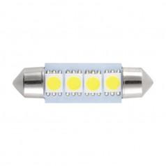 Автолампы светодиодные Solar 12V SV8.5 T11x39 4SMD 5630 white