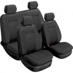 Авточехлы универсальные Beltex Comfort комплект черный без подголовников 52210