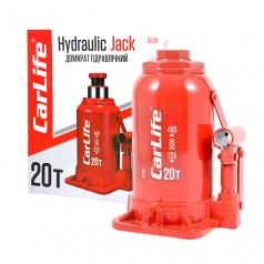 Домкрат бутылочный 20 т 235-440 мм гидравлический CARLIFE (BJ420)