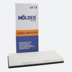 Фильтр салонный MOLDER LK73 (аналог WP6984/LA83/CU3858)