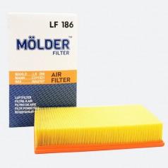 Фильтр воздушный MOLDER LF186 (аналог WA6167/LX296/C311521)