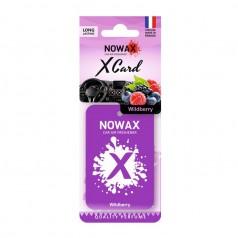 Ароматизатор на зеркало NOWAX X Card Wildberry (NX07539)