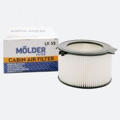 Фильтр салонный MOLDER LK55 (аналог WP6874/LA65/CU1738)