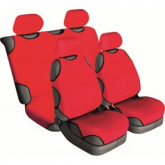 Автомайки универсальные Beltex Cotton 2+2 красные без подголовников 13610