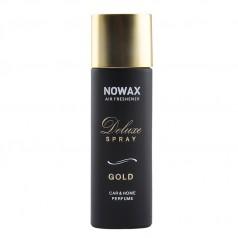 Ароматизатор для авто и дома аэрозоль 50 мл Nowax Deluxe Spray Gold (NX07748)