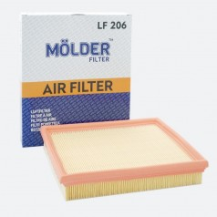 Фильтр воздушный MOLDER LF206 (аналог WA6249/LX316/C2598)