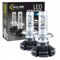 Светодиодные лампы SOLAR H4 12/24V 6000Lm 50W Philips ZES (8804)