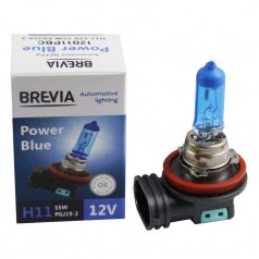 Галогеновая лампа BREVIA H11 POWER BLUE 12011PBC