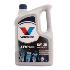 Моторное масло Valvoline SYNPOWER FE 5W-30 5 л (872552)