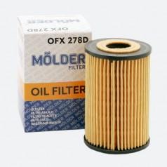 Фильтр масляный MOLDER OFX278D (аналог WL7476/OX388DE/HU7008Z)