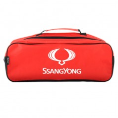 Сумка-органайзер в багажник красная полиэстер BELTEX SsangYong (SU23)