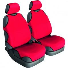 Автомайки универсальные Beltex Cotton 1+1 красные без подголовников 11610
