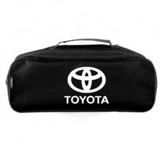 Сумка-органайзер в багажник черная полиэстер BELTEX Toyota (SU50)