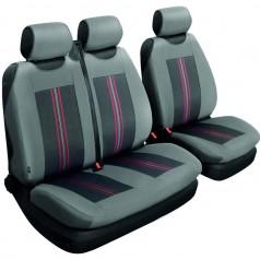 Авточехлы универсальные Beltex Comfort 2+1 Тип Б серые без подголовников 54110