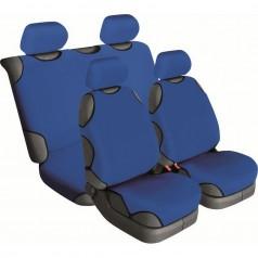 Автомайки универсальные Beltex Cotton 2+2 синие без подголовников 13310