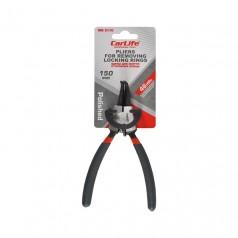 Щипцы для снятия стопорных колец Carlife 150 мм для сжатия прямые (WR5110)