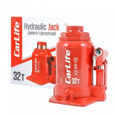 Домкрат бутылочный 32 т 225-325 мм гидравлический CARLIFE (BJ432S)