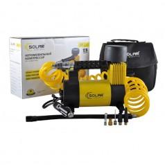 Автомобильный компрессор Solar однопоршневой 40 л/мин с фонариком AR211