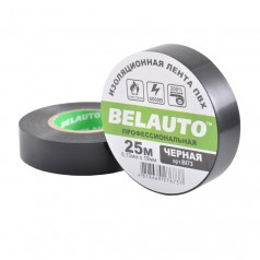 Изолента BELAUTO черная 25 м (BI73)
