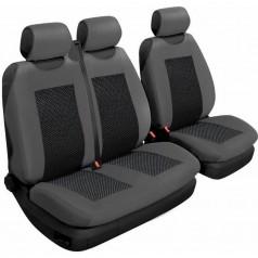 Авточехлы универсальные Beltex Comfort 2+1 Тип Б графит без подголовников 54310