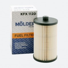 Фильтр топливный MOLDER KFX112D (аналог WF8392/KX222DEco/PU816X)