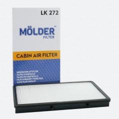 Фильтр салонный MOLDER LK272 (аналог WP9246/LA382/CU3454)