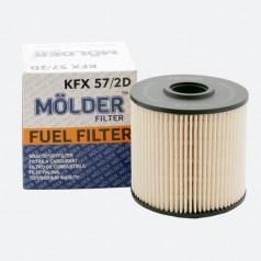 Фильтр топливный MOLDER KFX572D (аналог 95021E/KX67/2DEco/PU10461X)