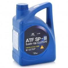 Трансмиссионное масло Mobis Hyundai ATF SP-III 4 литра 04500-00400