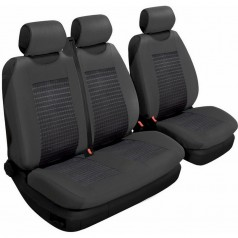 Авточехлы универсальные Beltex Comfort 2+1 Тип А черные без подголовников 53200