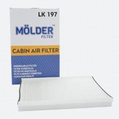 Фильтр салона MOLDER LK197 (аналог WP9330/LA307/CU3569)