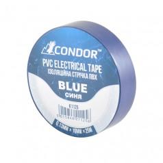 Изолента CONDOR синяя 25 м (K1125)