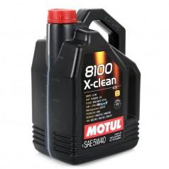 Моторное масло MOTUL 8100 X-clean 5W-40 5L (854154)