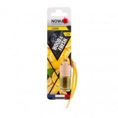 Ароматизатор автомобильный подвесной Nowax Wood&Fresh Lemon жидкость (NX07706)